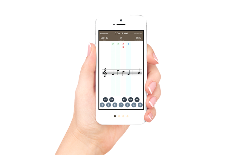 Sight Reading on iPhone and iPad